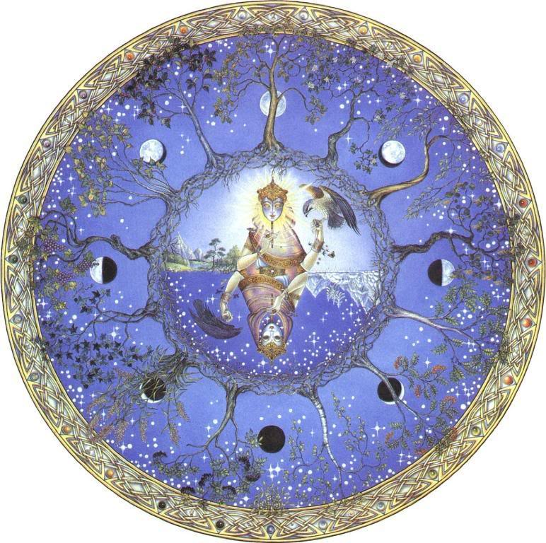 Moon-Mandala