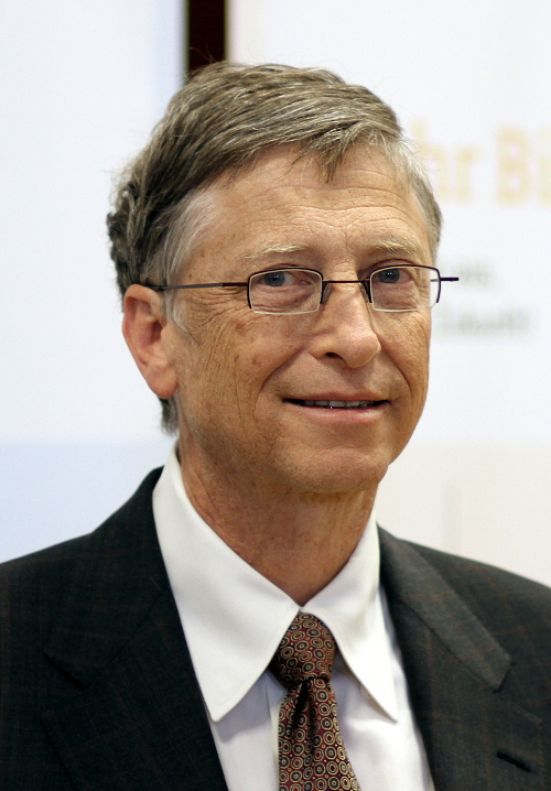 Bill Gates - Urano quadratura Sol